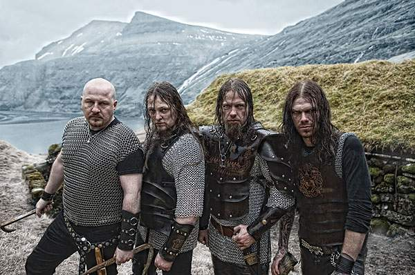 Faroese Viking metal band TÝR.